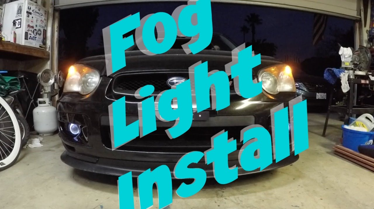 small resolution of 2004 subaru sti fog light install