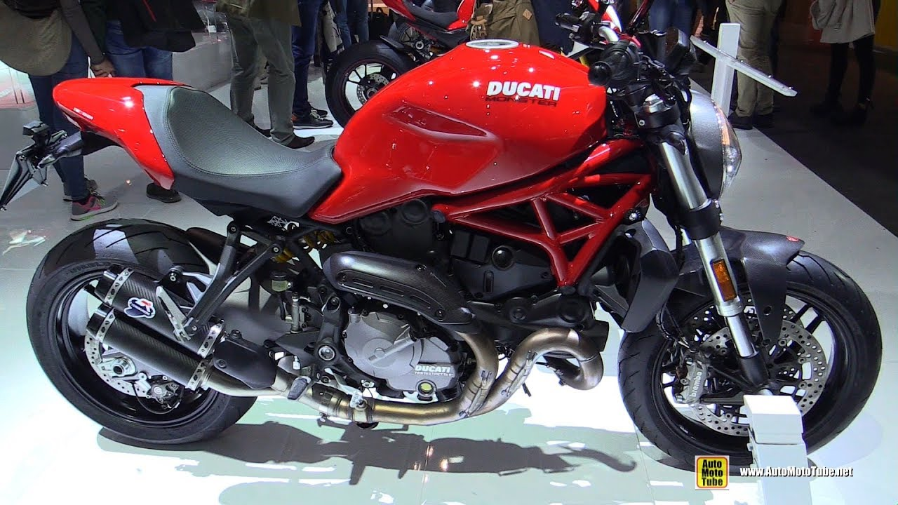 Ducati Monster 821 >> 2019 Ducati Monster 821 Walkaround Debut At 2018 Eicma Milan