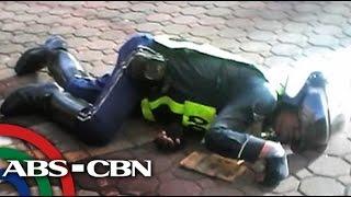 TV Patrol: Traffic enforcer, binaril ng sekyu ng bangko