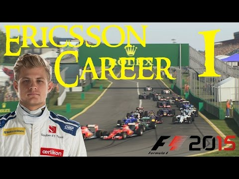 F1 2015 ERICSSON Career Mode #1: AUSTRALIA