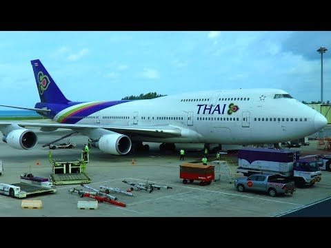TRIP REPORT | Thai Airways 747-400 | Phuket to Bangkok | Economy Class
