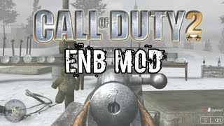Call Of Duty 2 Gameplay | ENB Realism Mod