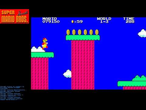 Let's play Super Mario Bros. Special (Sharp X1 version)