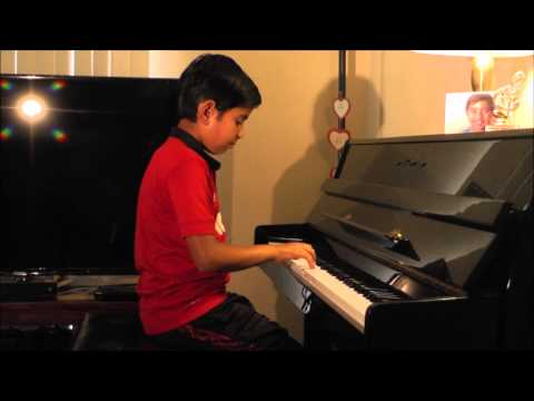 Mamatala Thalli Bahubali - Piano by 10 yr old