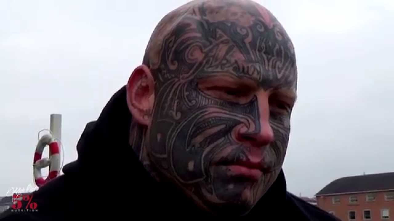 God full facial tattoo that whore