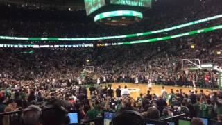 Paul Pierce checks in for one last big shot against Boston Celtics