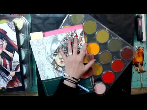 Pan Pastel Coloring