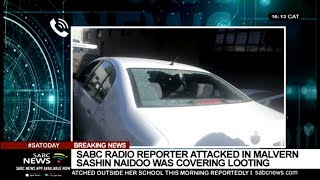 SABC radio reporter Sashin Naidoo attacked