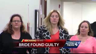 Beaver County bride found guilty of killing niece