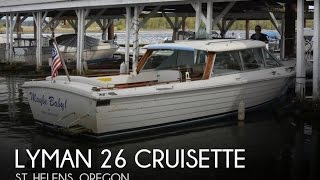 Used 1980 Lyman 26 Cruisette For Sale In St. Helens, Oregon