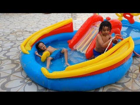 آسر وسامر عبوا المسبح لوحدهم Youtube
