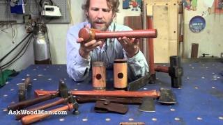 2 Of 42: How To Make A Steel Hooped Wooden Mallet • Woodworking Projects