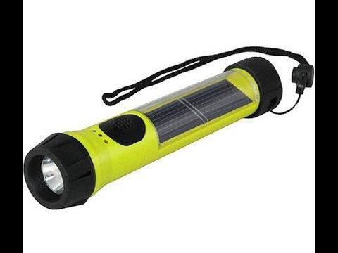 Hybrid Solar LED Flashlight I Bought & We Use Heavily