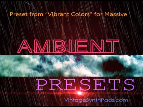 Ambient Presets for Zebra, Omnisphere and NI Massive and Special