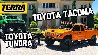 BUILT TO DESTROY: Fully Built 96 Toyota Tacoma + Class 8 Toyota Tundra