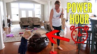 EXTREME POWER HOUR | MESSY HOUSE