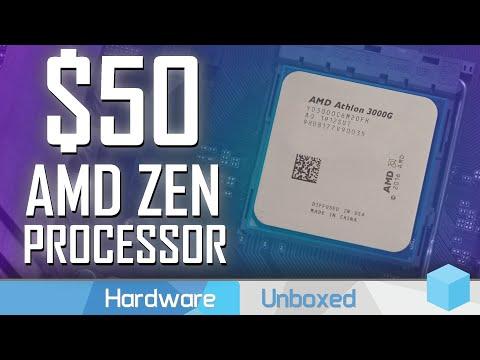 AMD Athlon 3000G Review, An Unlocked $50 CPU