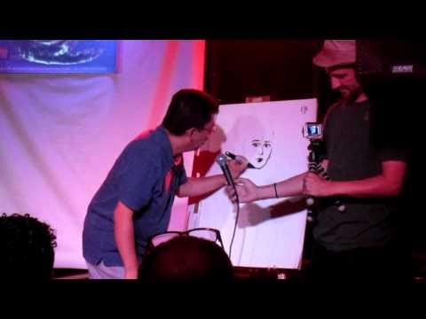 Xaime Hernandez Draws Maggie from Love & Rockets