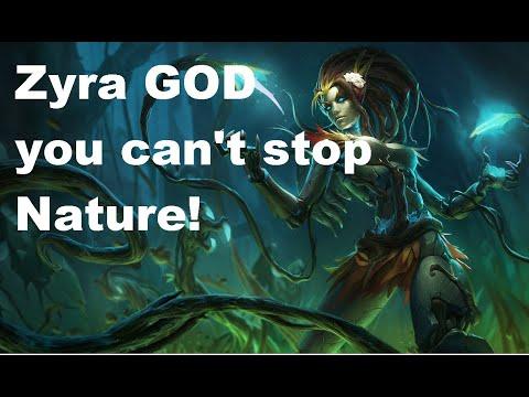 Best Zyra in EU West League of Legends! Part1