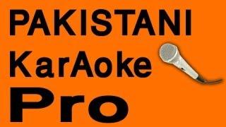 mere dil de sheeshe wich Pakistani Karaoke - www.MelodyTracks.com