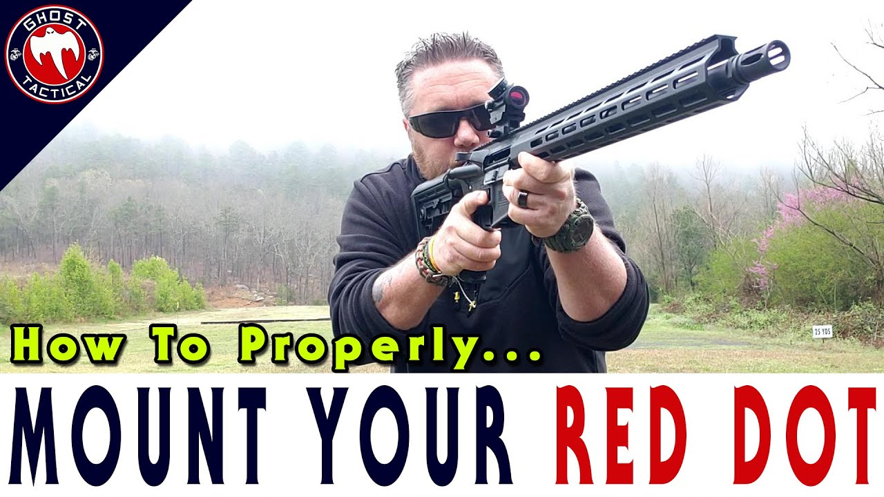 How to Properly Mount a Red Dot on your AR-15
