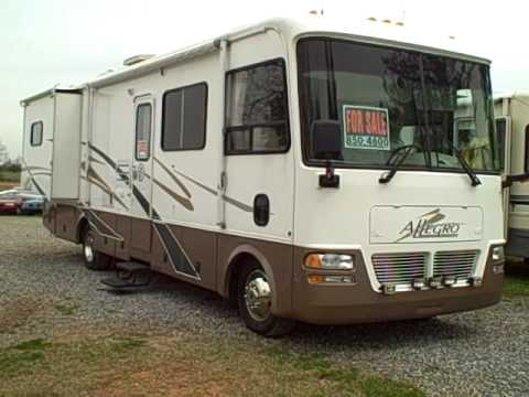 2002 Allegro 32 Ft Motorhome By Tiffin Youtube