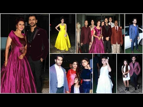 Divyanka Tripathi, Vivek Dahiya's Grand starry reception in Mumbai | Full Video