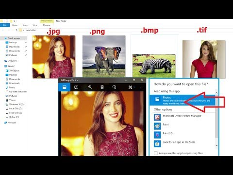 How to Fix All Problem of Image File Not opening in Windows 10 (JPG,JPEG,TIFF,GIF, BMP, PNG)