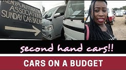 CHEAP SECOND HAND CARS AND PRICES IN KENYA FOR SALE