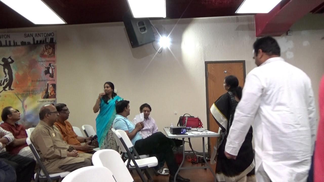 TANTEX - NNTV 116th - 38th TX Sahitya Vedika Guests Intro-6