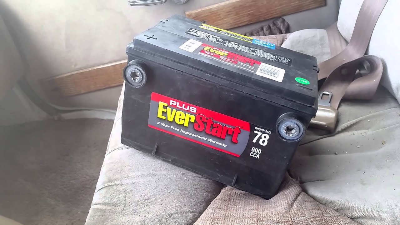 Walmart Ever Start Battery Junk