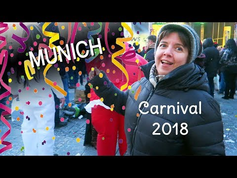 Munich Carnival 2018: Loads of Dancing on the Last Day