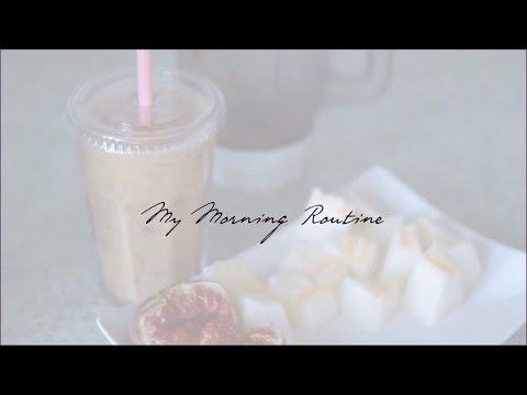 Моё утро / My Morning Routine ♡