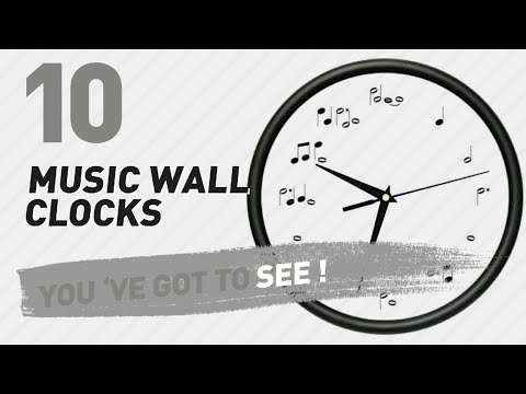 Music Wall Clocks // New & Popular 2017