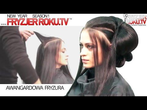 Awangardowa Fryzura Fashion Hairstyle Fryzjerrokutv Youtube
