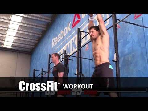 Rob Forte and Chris Hogan do Helen Workout 150107
