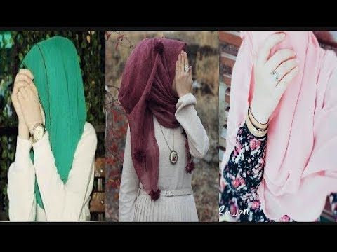 Muslim Look Selfie // Muslim looks Hijab Hidden Face Dp