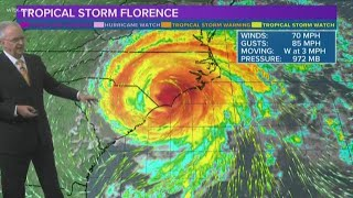 Florence Downgraded to a Tropical Storm: Full Forecast