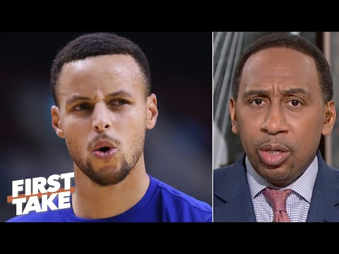 Stephen A. is worried about Steph Curry's return with the Warriors | First Take