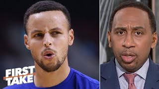 Stephen A. is worried about Steph Curry's return to the Warriors | First Take