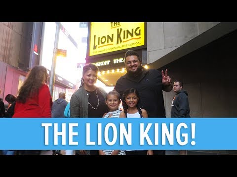 DISNEY'S THE LION KING ON BROADWAY IN NEW YORK CITY