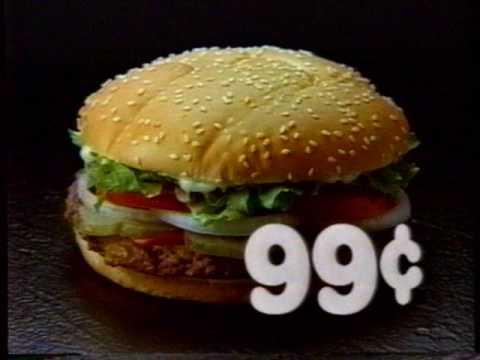 1988 Burger King 99 Whopper Basketball TV Commercial