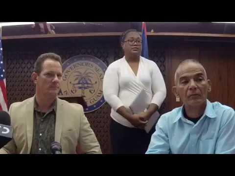 Lieutenant Governor Ray Tenorio talks about Guam safety