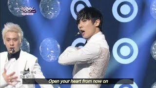 Sexy Beat & Smoky Girl - MBLAQ (2013.06.22) [Music Bank w/ Eng Lyrics]