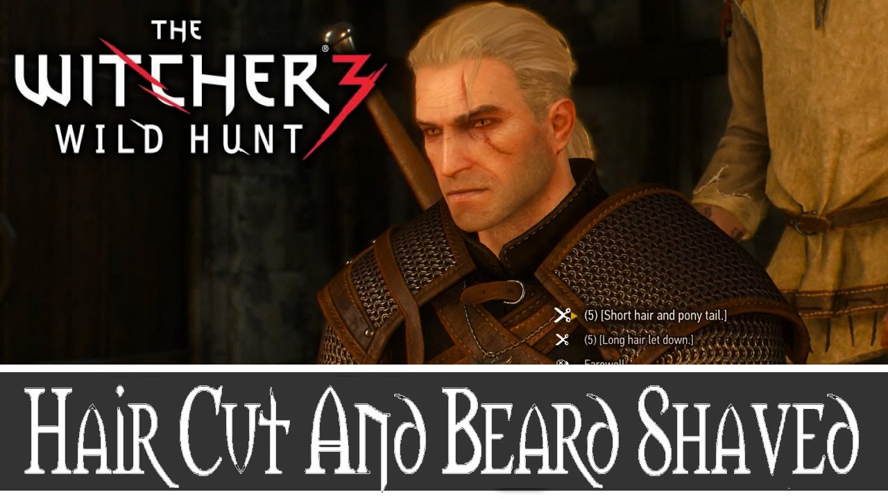 the witcher 3 wild hunt how to get your hair cut and beard shaved