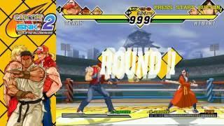 Capcom vs. SNK 2: Arcade Mode- Run #1