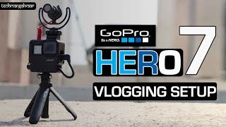 Gopro vlogging setup - Gopro Hero vlogging setup Hindi - How to VLOG with Gopro