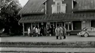 Hafdhem 1960 - Sista tågavgången på Gotland