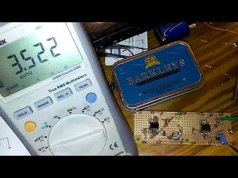 UA741 positive and negative voltage reference