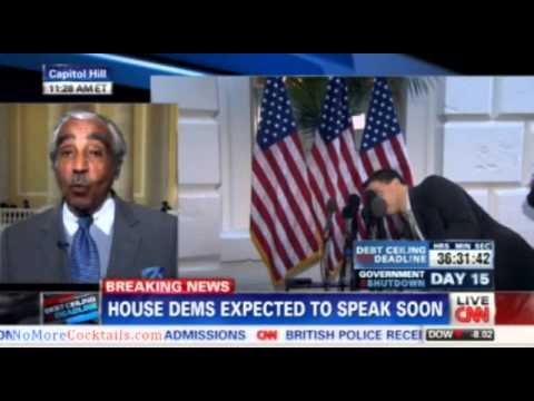 Charlie Rangel: Republicans are Confederates who want to bring down our government